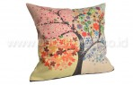 Bantal Sofa Decorative Motif Pohon QQ59